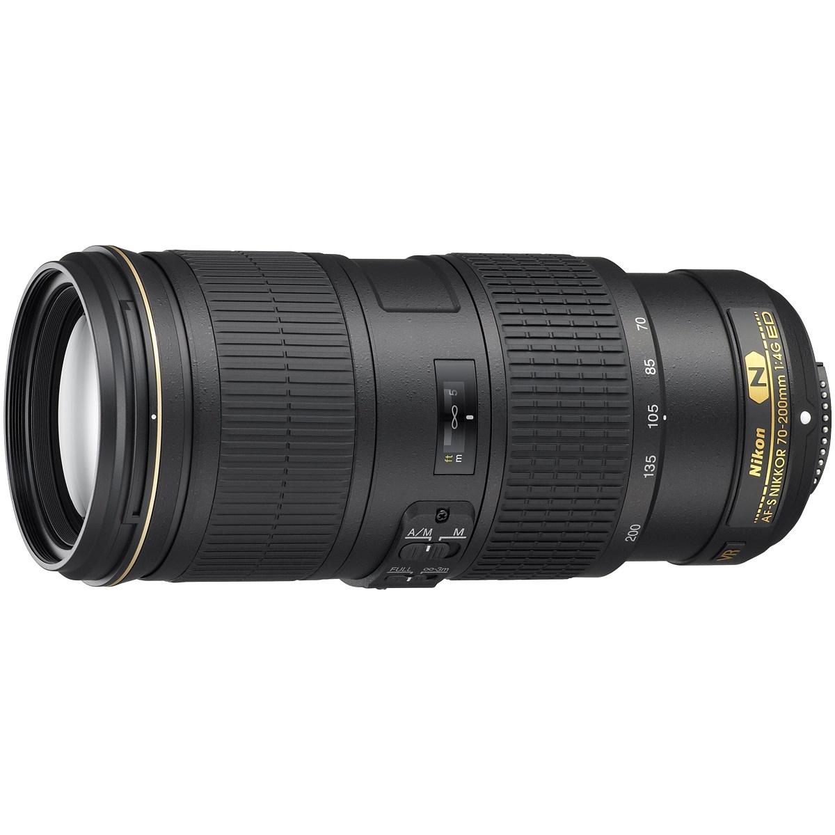 Nikon 70-200 mm 1:4,0 AF-S G ED VR