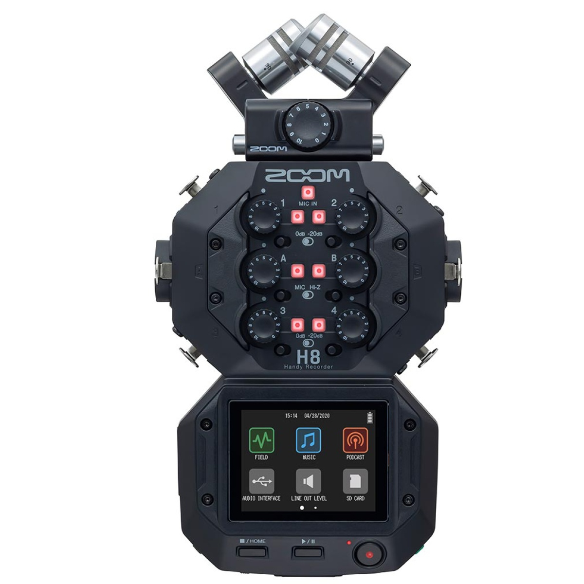 Zoom H8 Audio Recorder