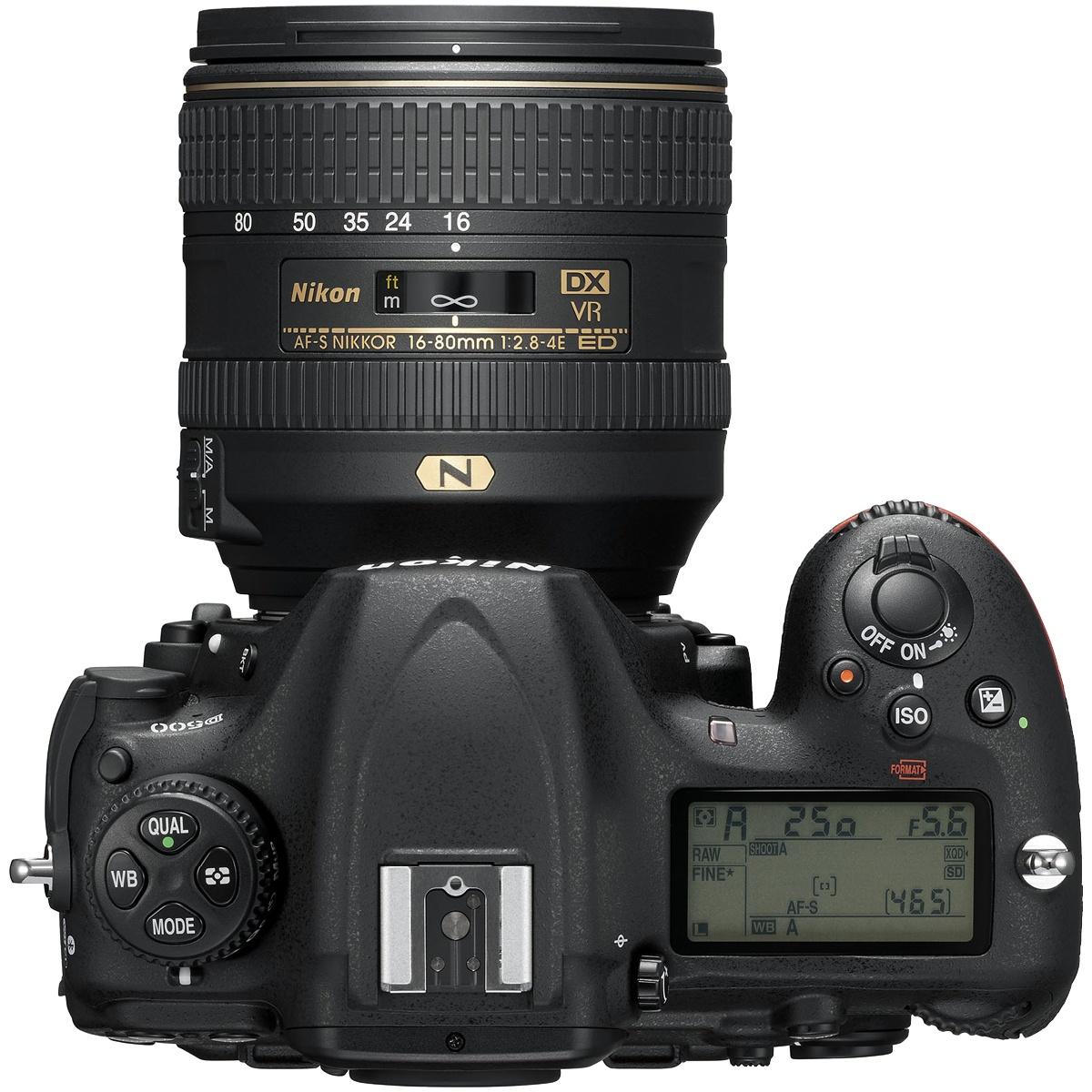 Nikon D500 Kit mit 16-80 mm 1:2,8-4