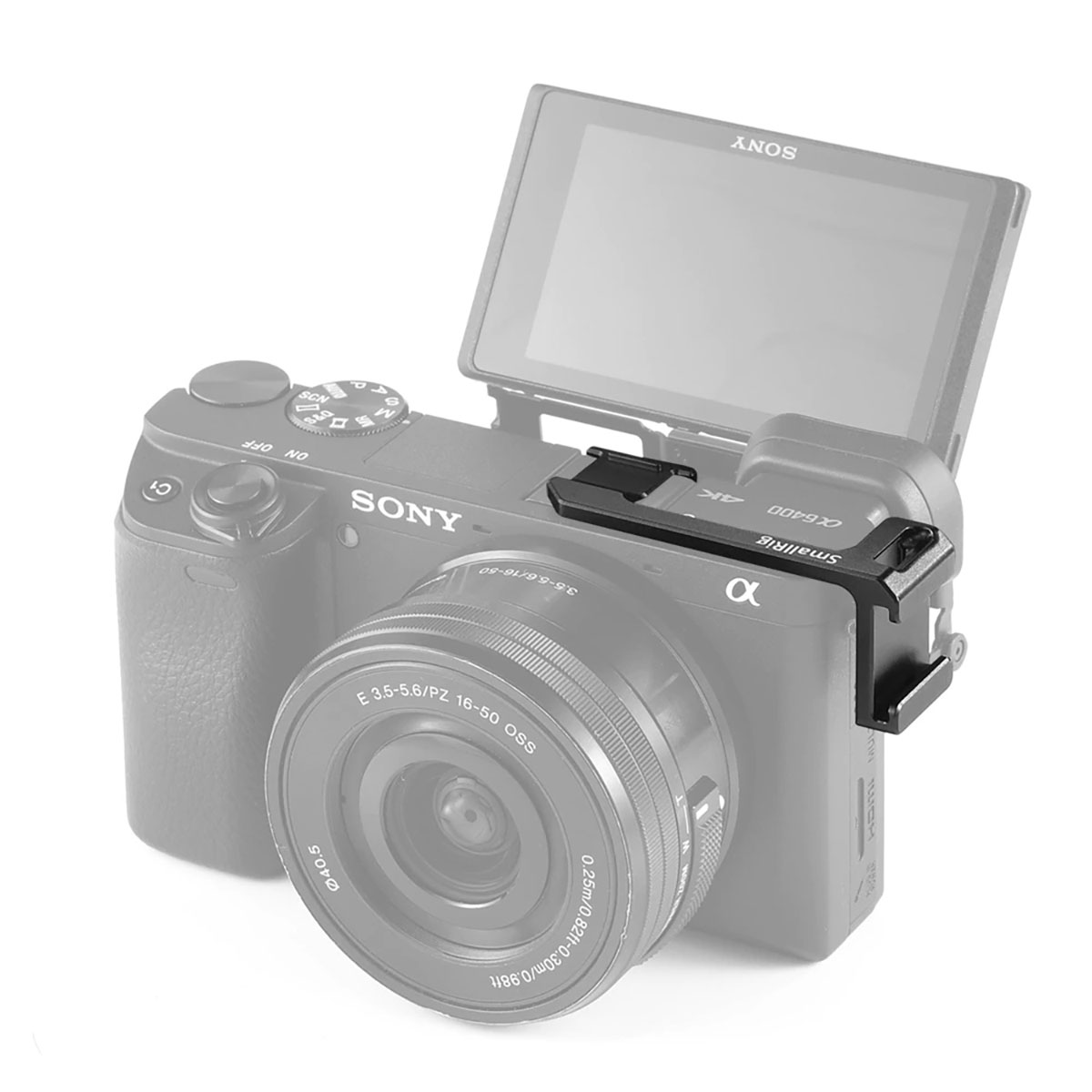 SmallRig Cold Shoe Adapter (links) für Sony A 6000 / A 6300 / A 6400 / A 6500 2342