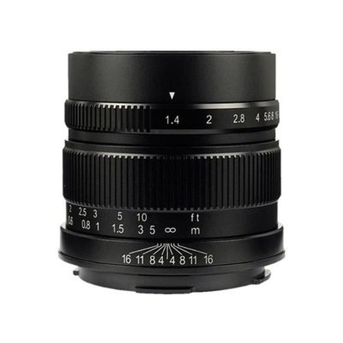 7Artisan 55 mm 1:1,4 für Sony E