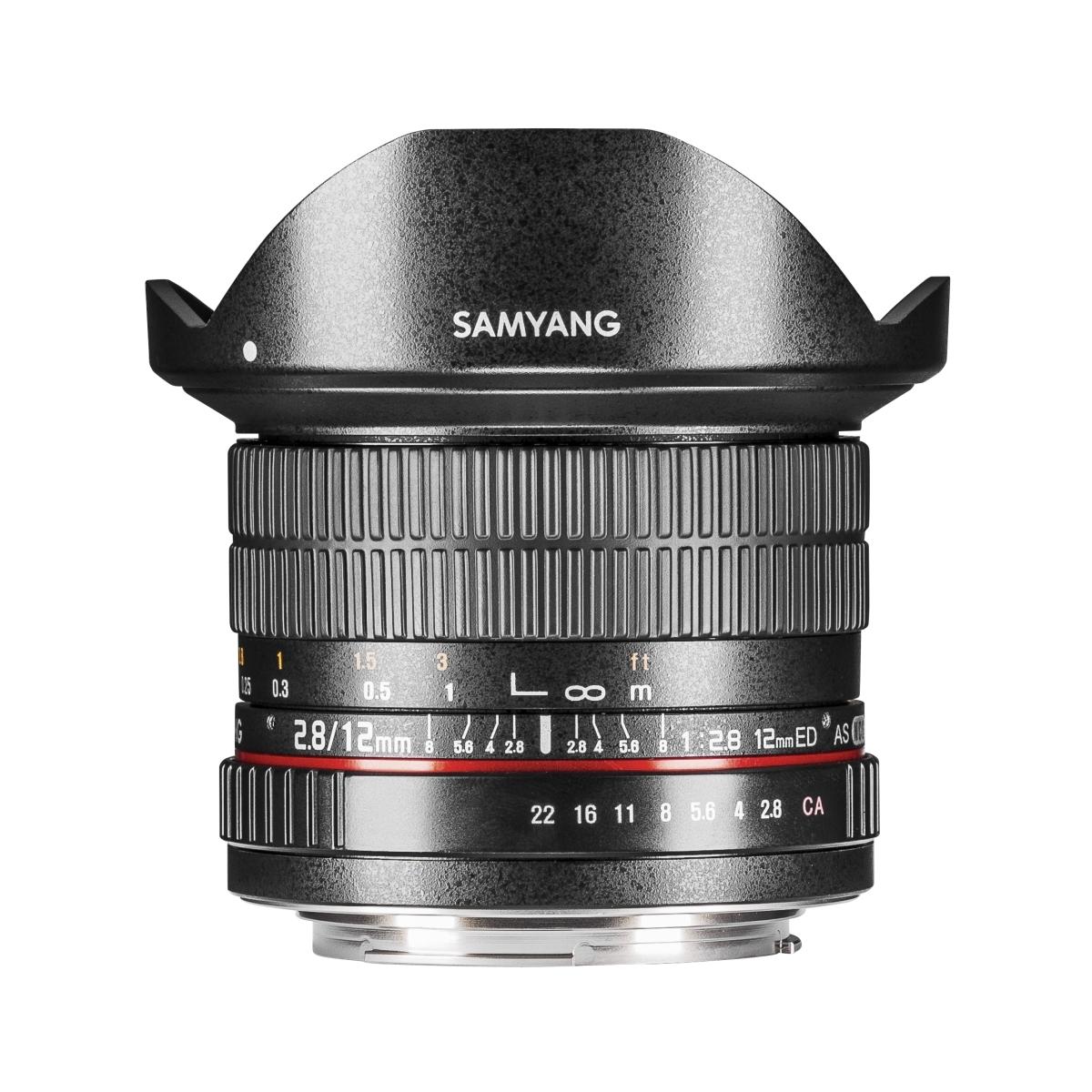 Samyang MF 12 mm 1:2,8 Fisheye für Canon EF-M