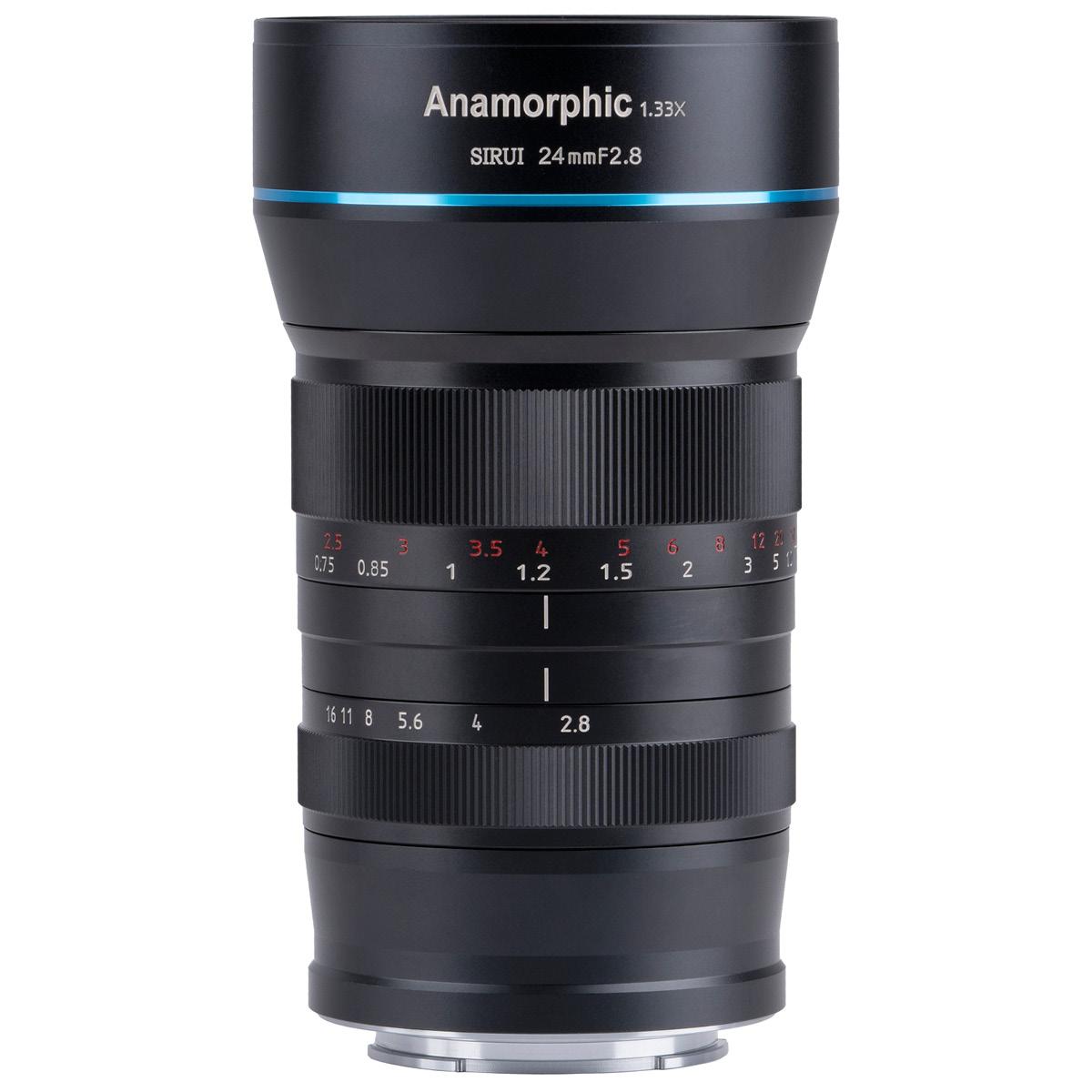 Sirui 24 mm 1:2,8 Anamorph 1,33x für Sony E-Mount