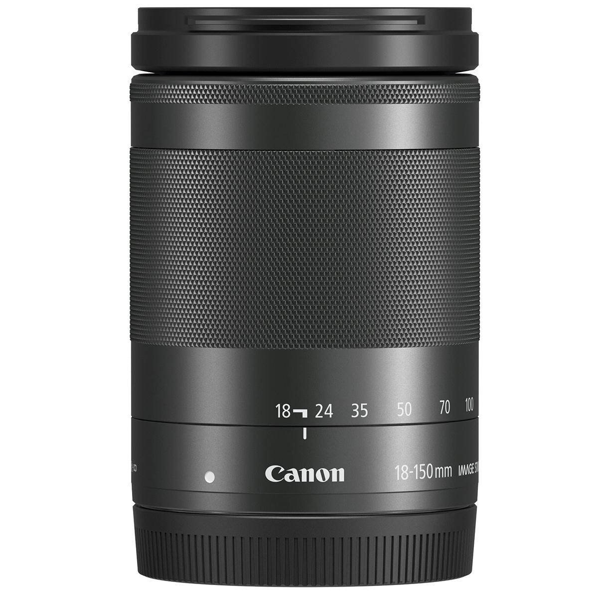 Canon EF-M 18-150 mm 1:3,5-6,3 IS STM Schwarz