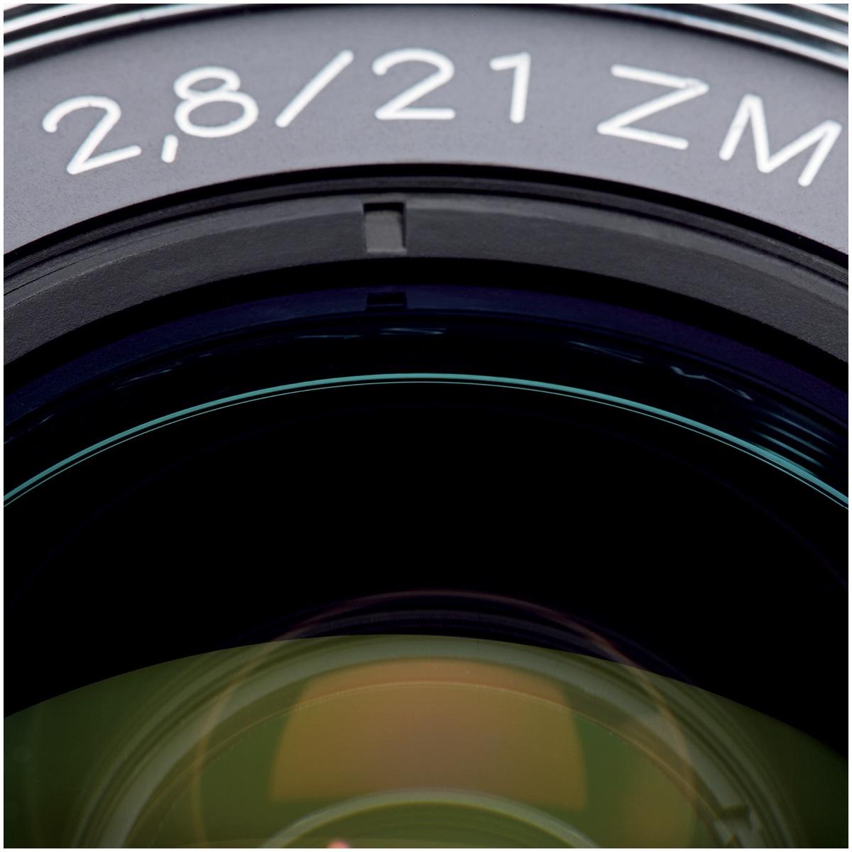 Zeiss 21 mm 1:2,8 Biogon T ZM Schwarz