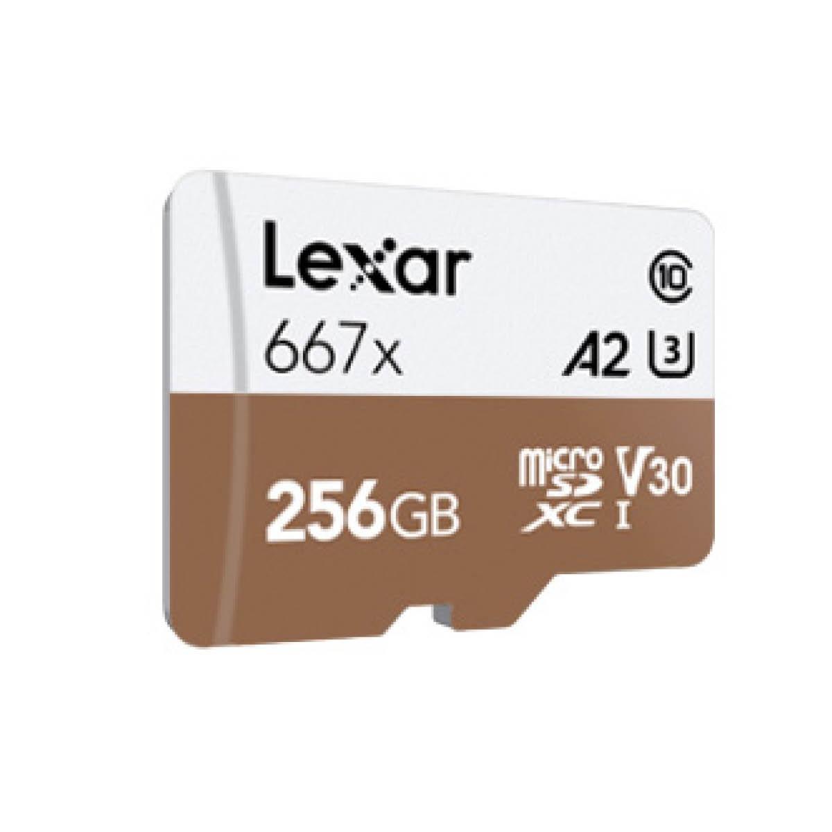 Lexar microSDXC 256GB Professional UHS-I 667x