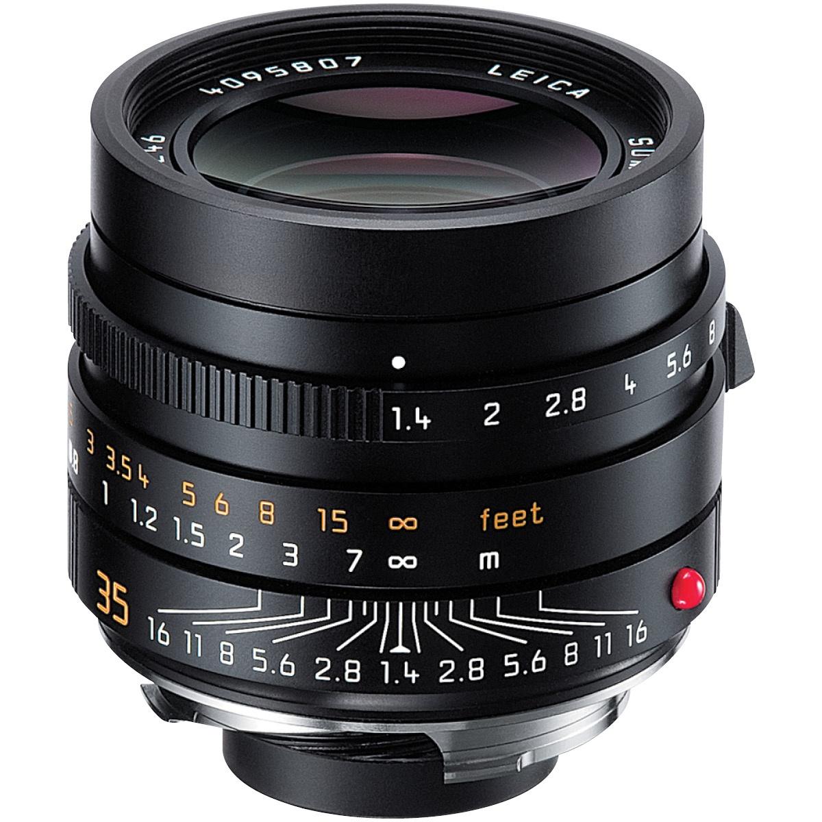 Leica 35 mm 1:1,4 Summilux-M ASPH Schwarz