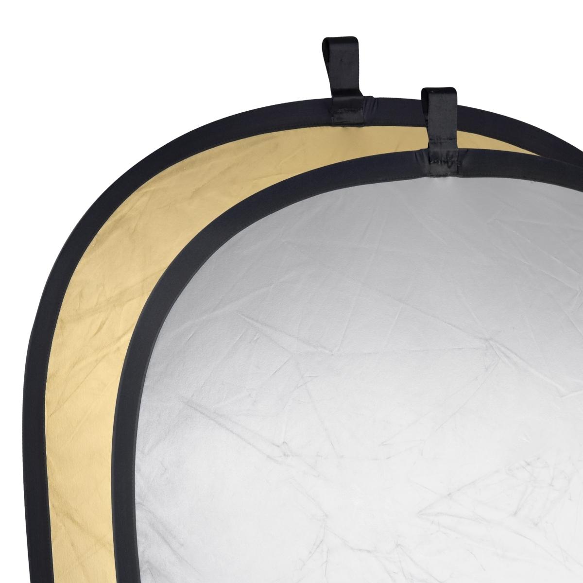 Walimex 2in1 Faltreflektor silber/gold, 145x200 cm