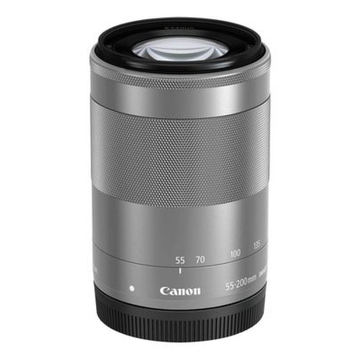 Canon EF-M 55-200 mm 1:4,5-6,3 IS STM Silber