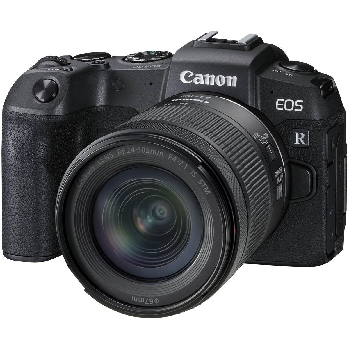 Canon EOS RP Kit mit 24-105 mm 1:4-7,1