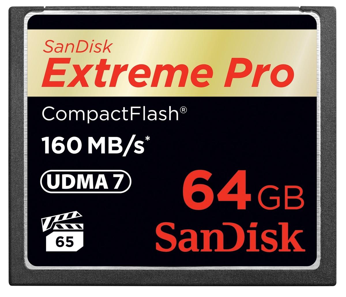 SanDisk 64 GB CF Extreme Pro 160MB/s