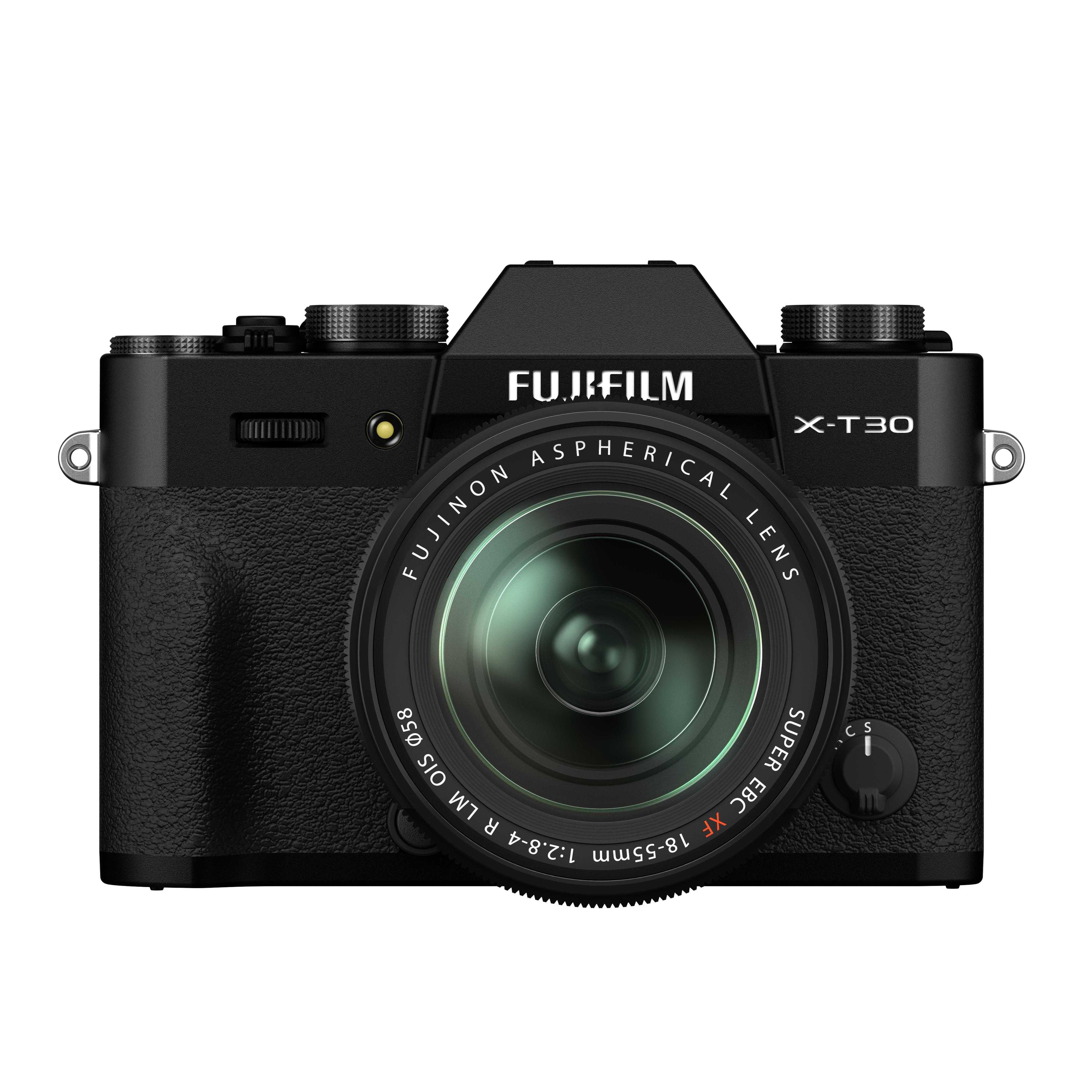 Fujifilm X-T 30 II mit 18-55 mm schwarz