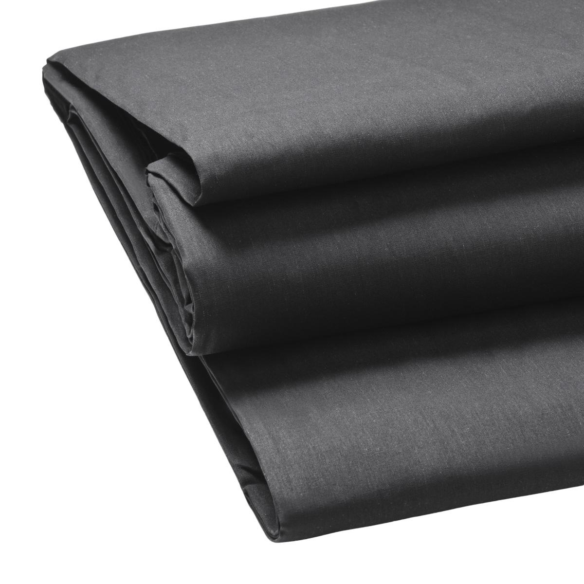 Walimex pro Stoffhintergrund 2,85x6m, uni schwarz