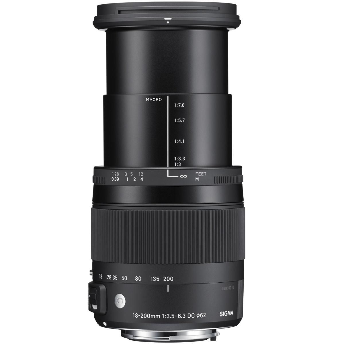 Sigma 18-200 mm 1:3,5-6,3 DC Makro OS HSM (C) DX