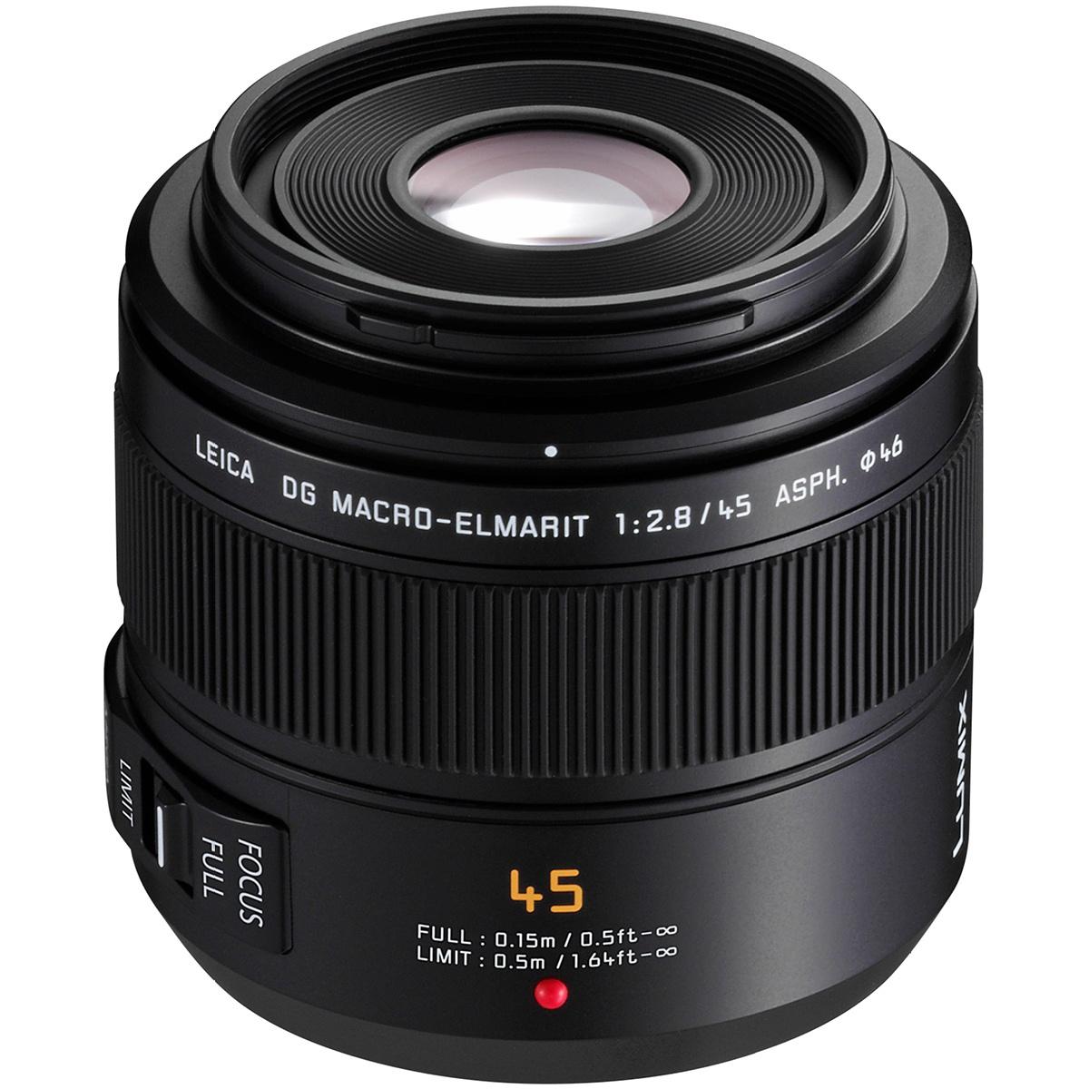 Panasonic 45 mm 1:2,8 Leica Macro-Elmarit OIS