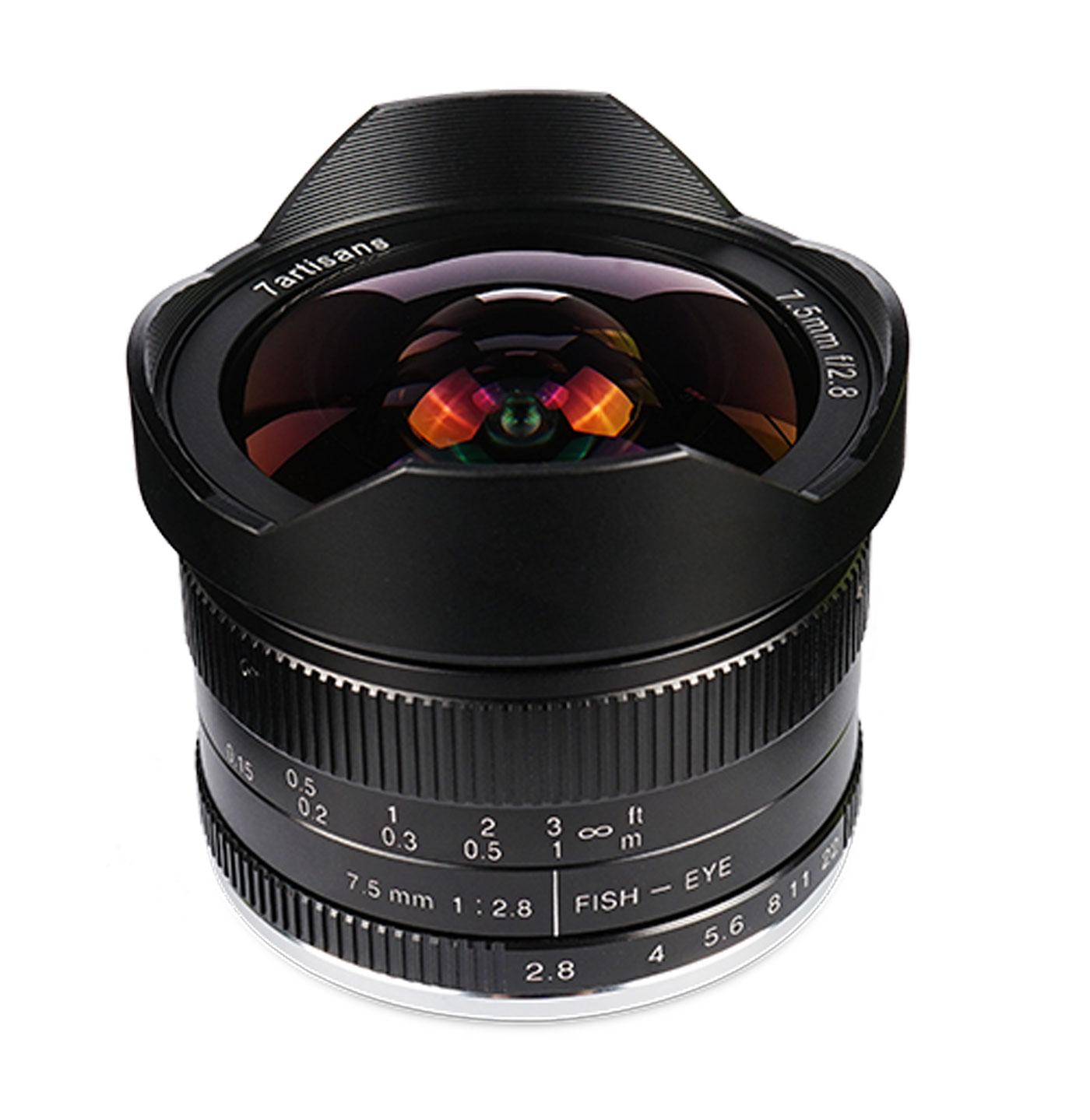7Artisans 7,5 mm 1:2,8 für Fujifilm X