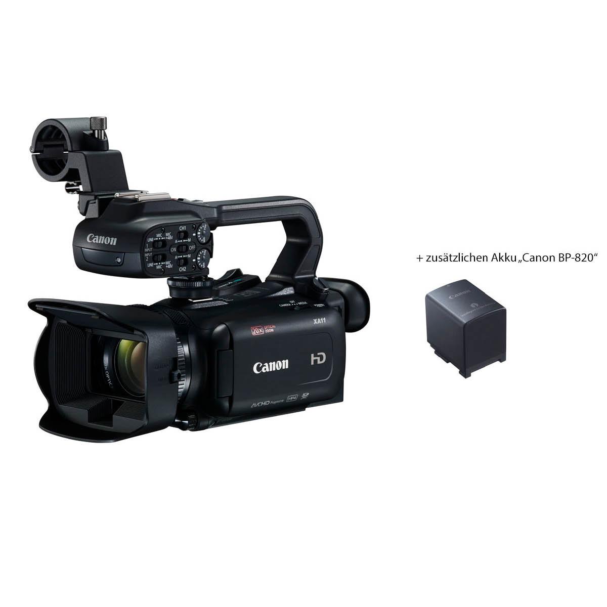 Canon XA11 inkl. Power Kit