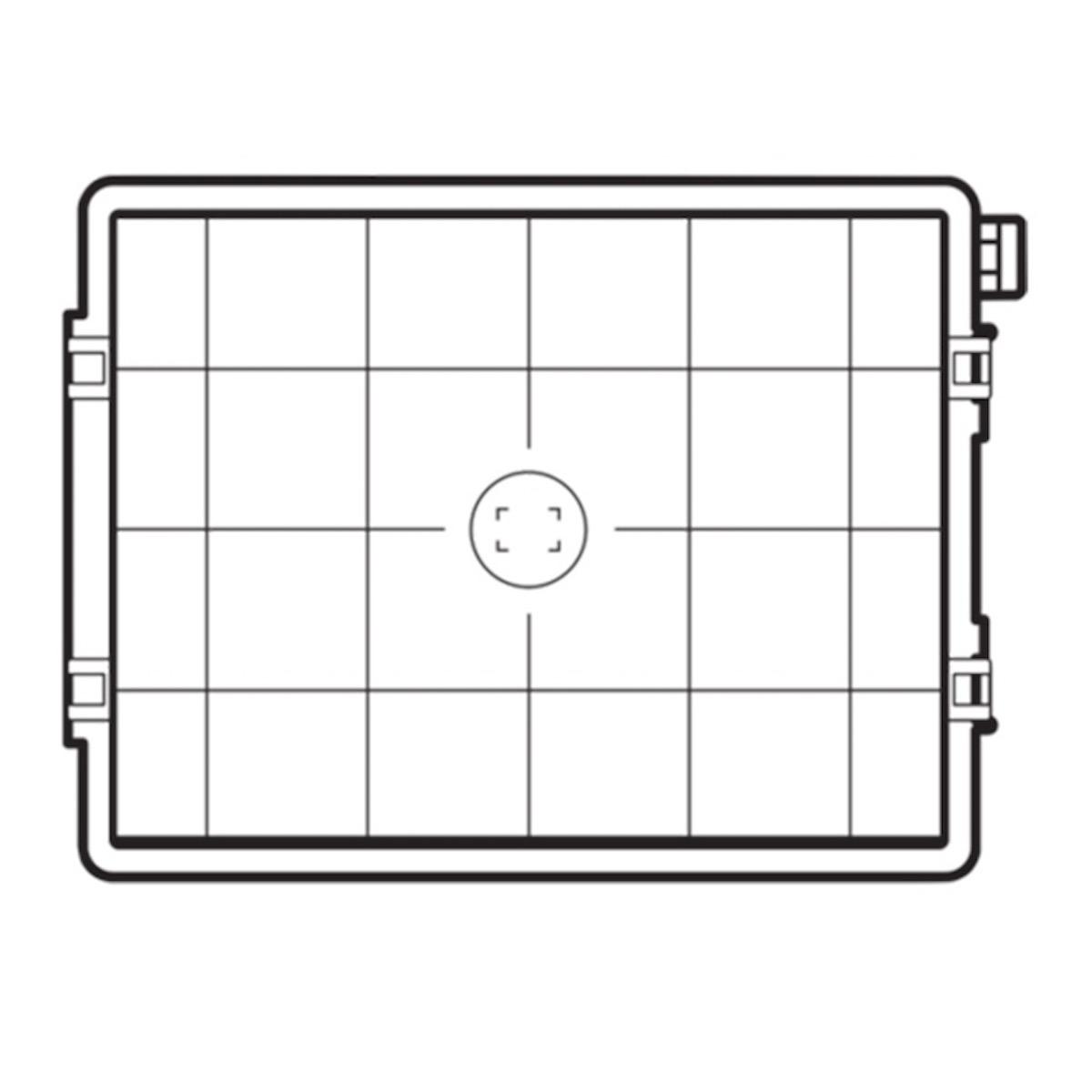 Hasselblad Fokussierscheibe 60MP CCD/100MP Raster