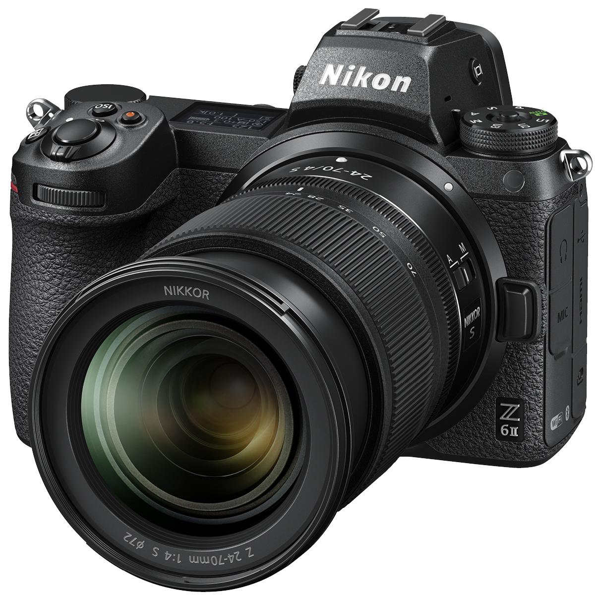 Nikon Z6 II Kit mit 24-70 mm 1:4,0 + FTZ-Adapter