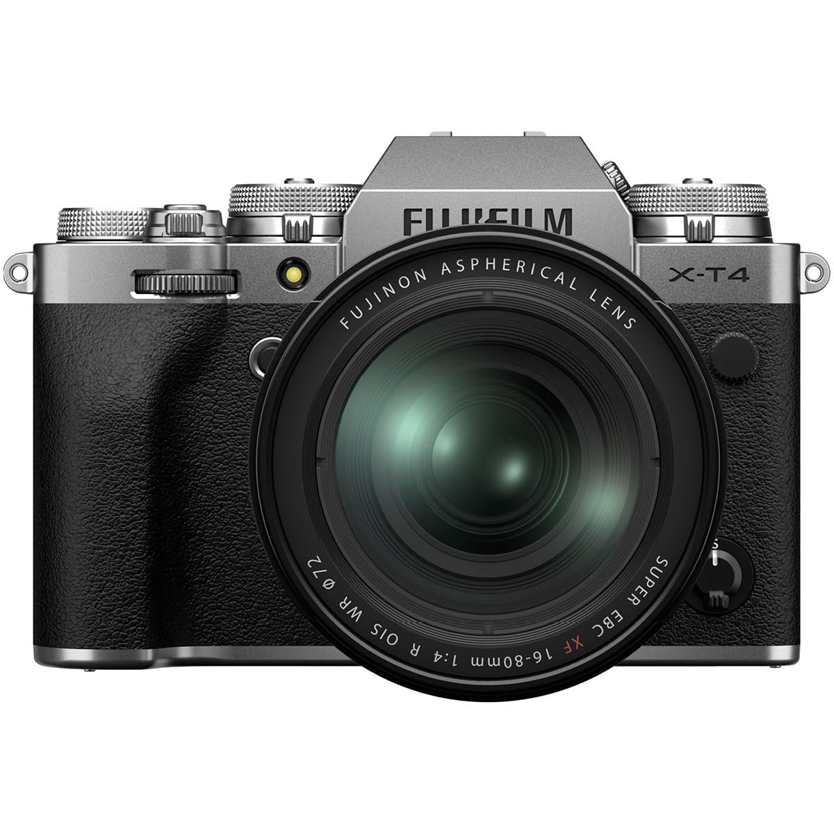 Fujifilm X T4 Kit mit 16-80 mm 1:4,0 Silber