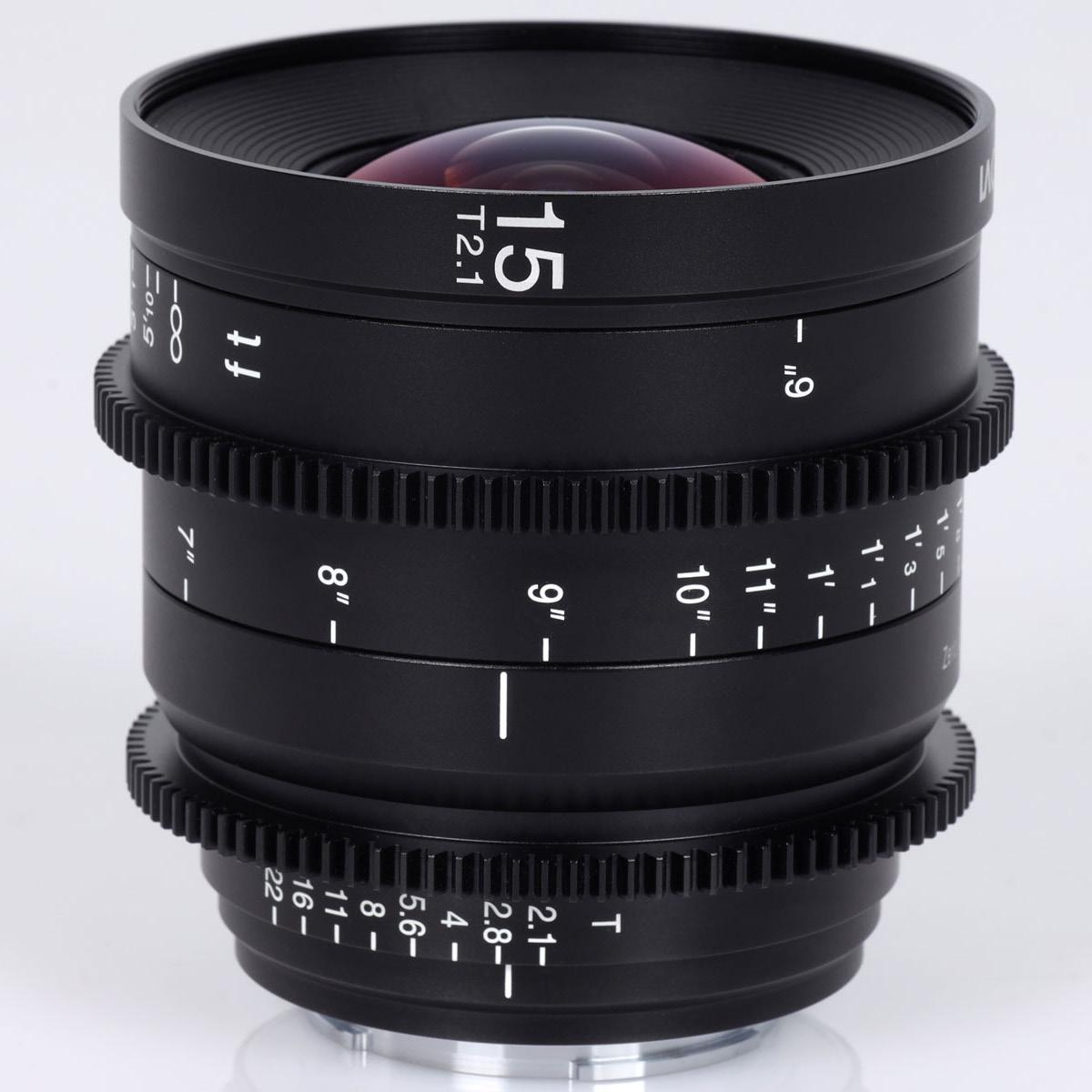 Laowa 15 mm 1:2,1 Zero-D Cine FE-Mount
