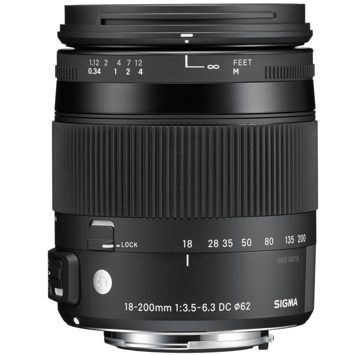 Sigma 18-200 mm 1:3,5-6,3 DC Makro OS HSM (C) EF-S