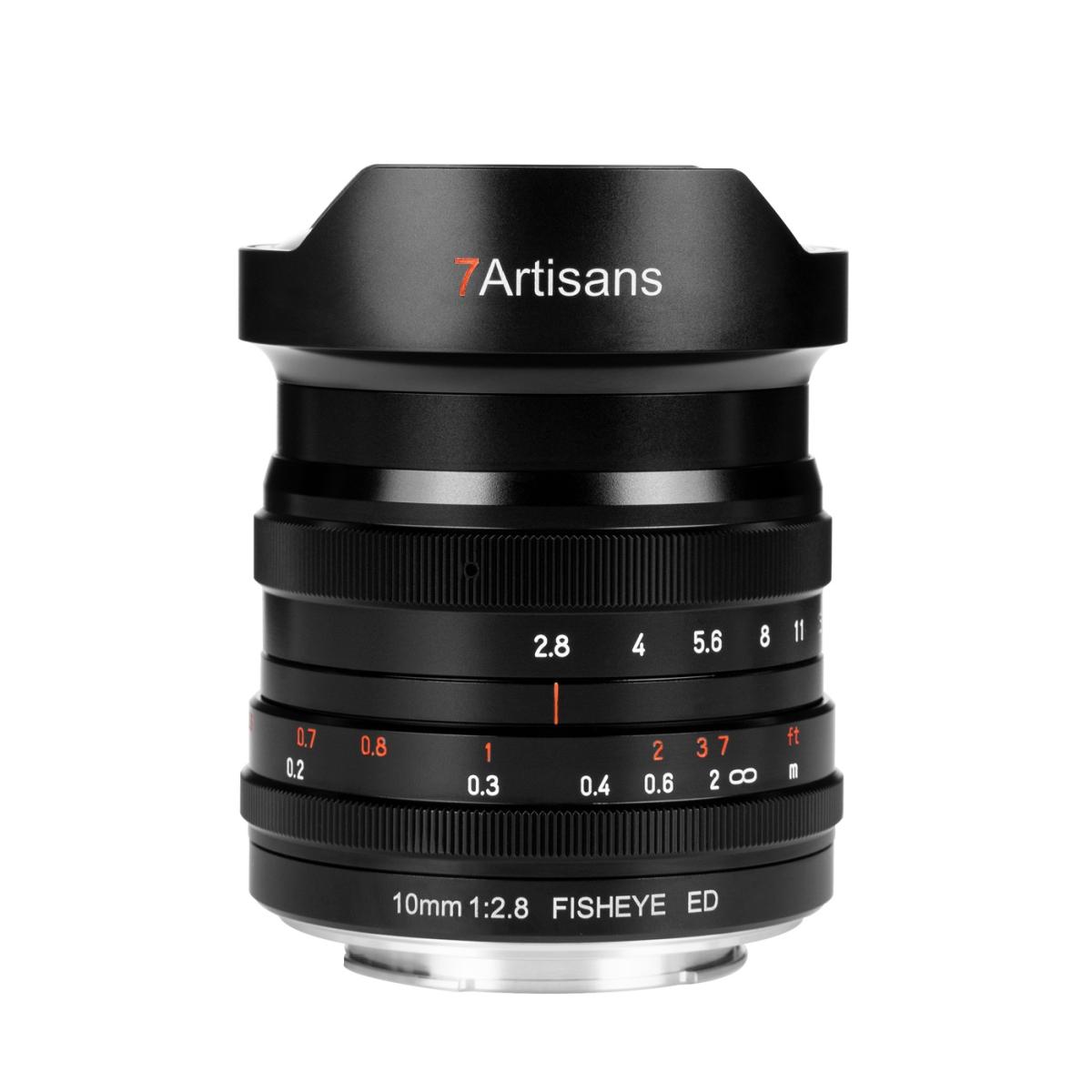 7Artisans 10 mm 1:2,8 Fisheye ED für Canon RF