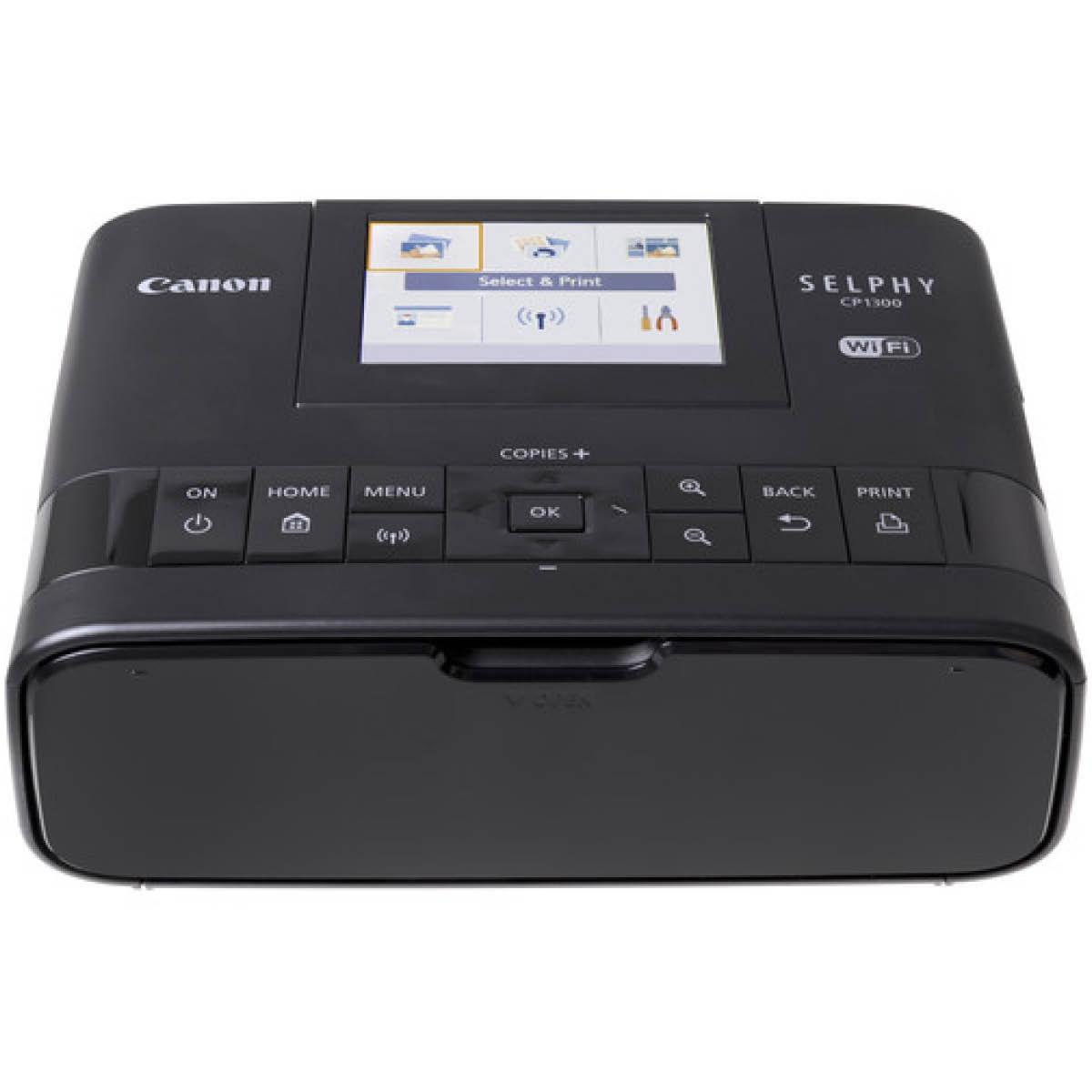 Canon Selphy CP 1300 Fotodrucker Schwarz