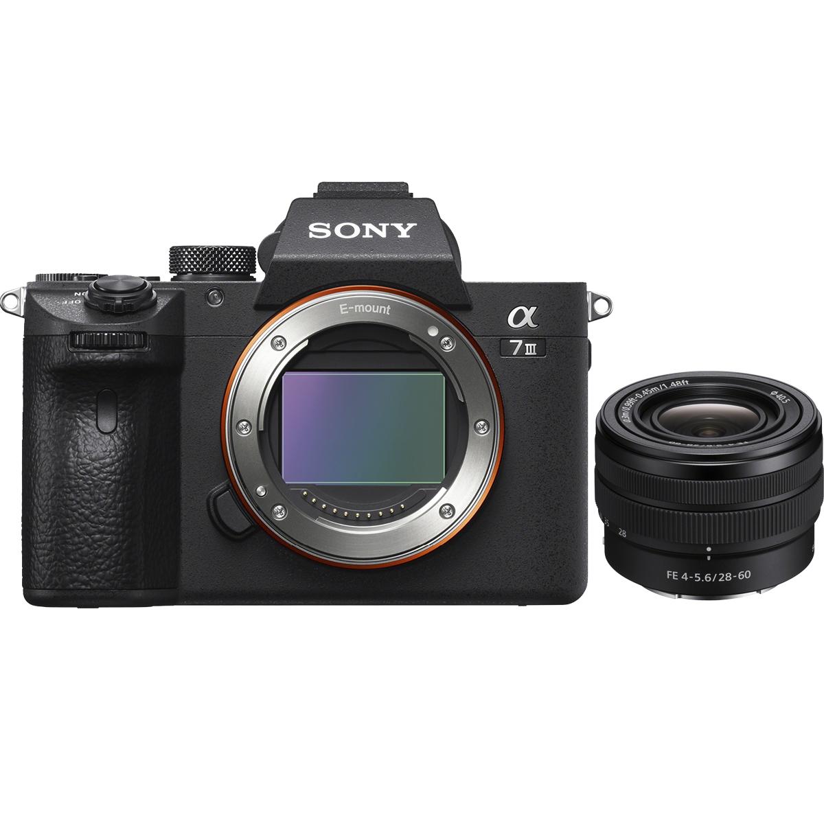 Sony Alpha 7 III Kit mit FE 28-60 mm 1:4,0-5,6