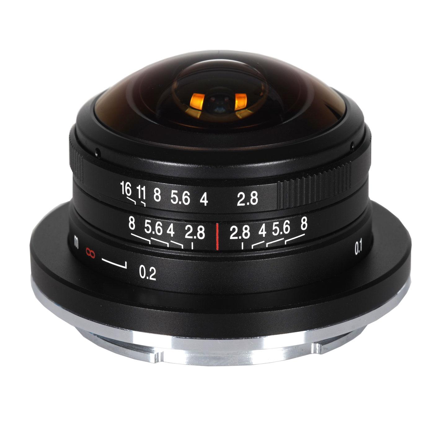 Laowa 4 mm 1:2,8 Fisheye für Sony E