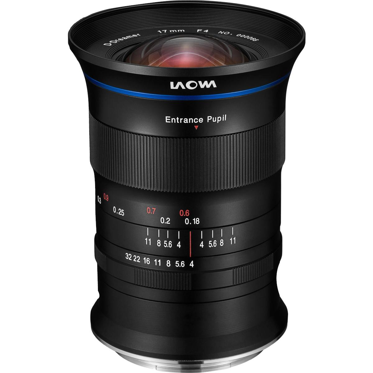 Laowa 17 mm 1:4,0 Zero-D für Fujifilm GFX