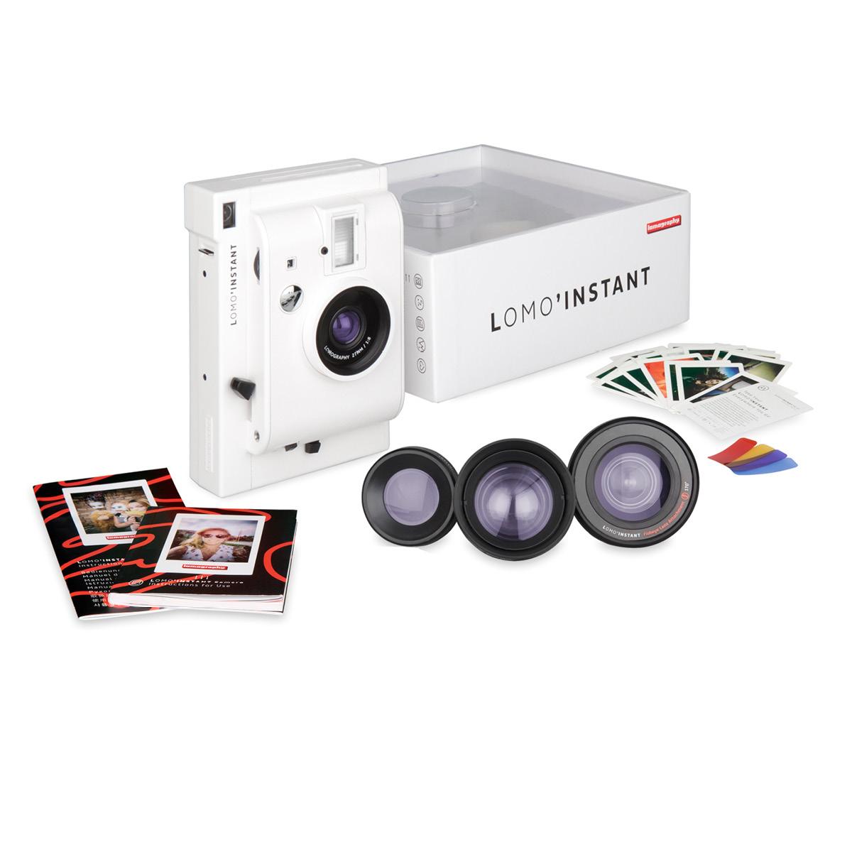 Lomo'Instant Mini White + 3 Lenses