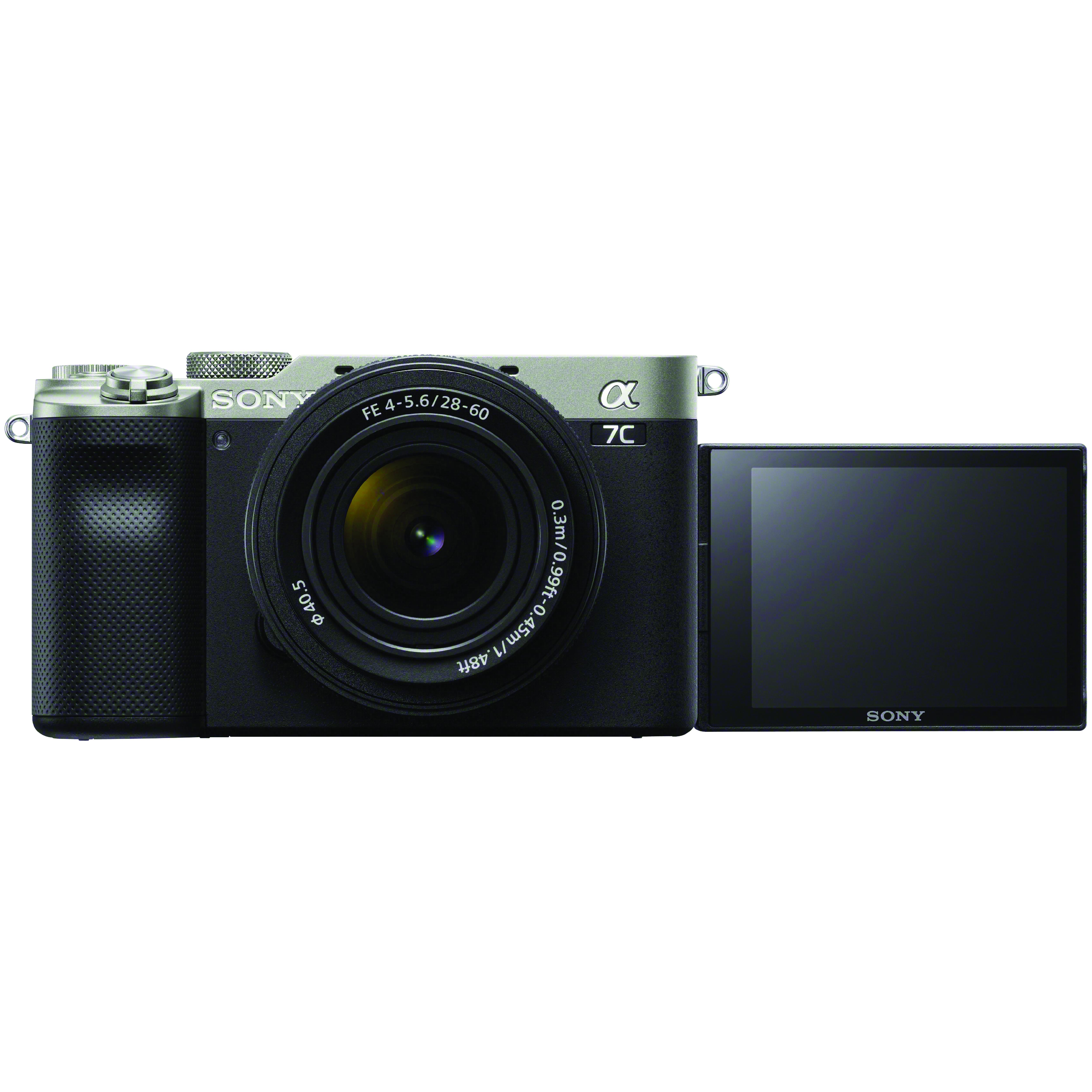 Sony Alpha 7C Kit mit 28-60 mm 1:4-5,6 Silber
