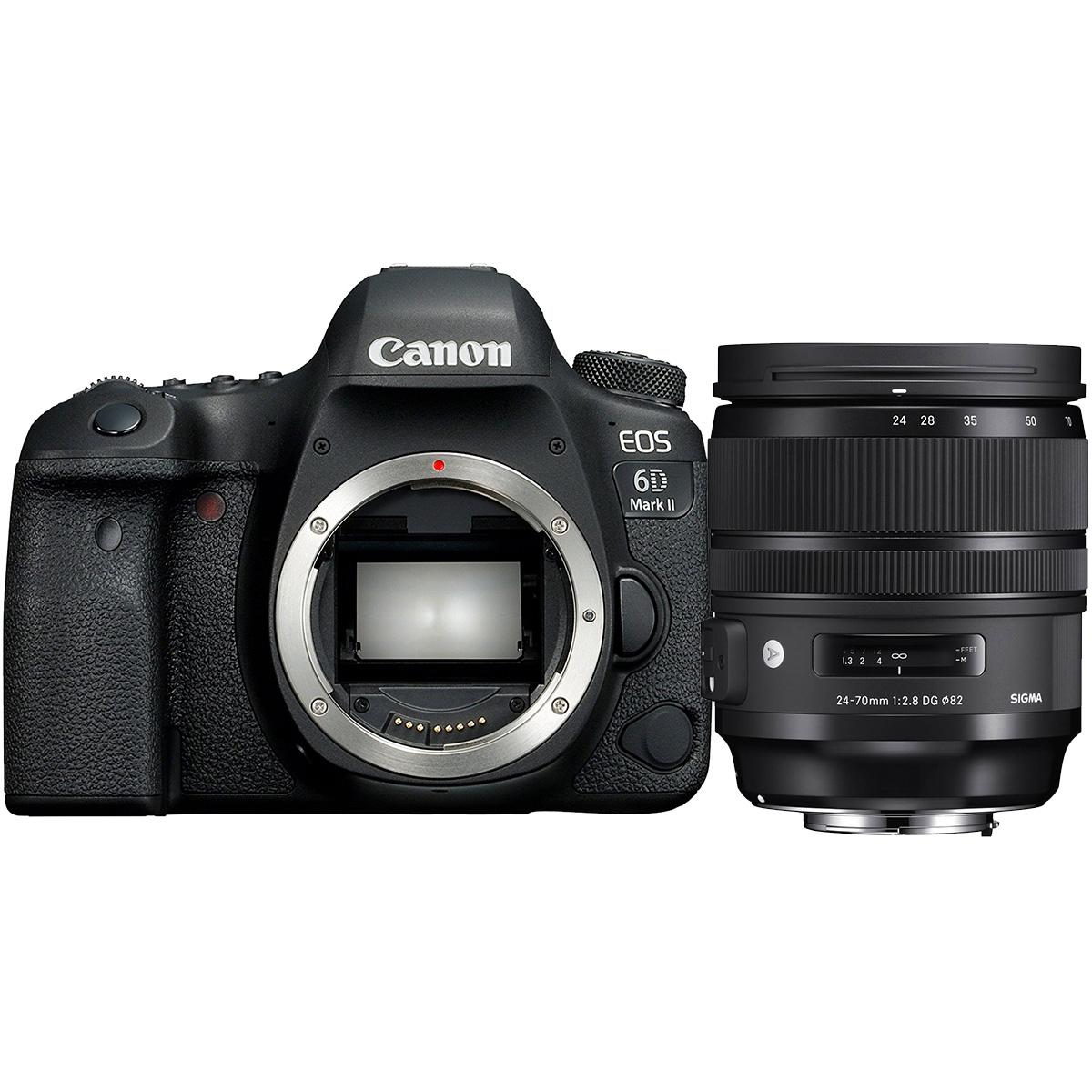 Canon EOS 6D Mark II + Sigma 24-70mm 1:2,8 DG OS HSM (A)