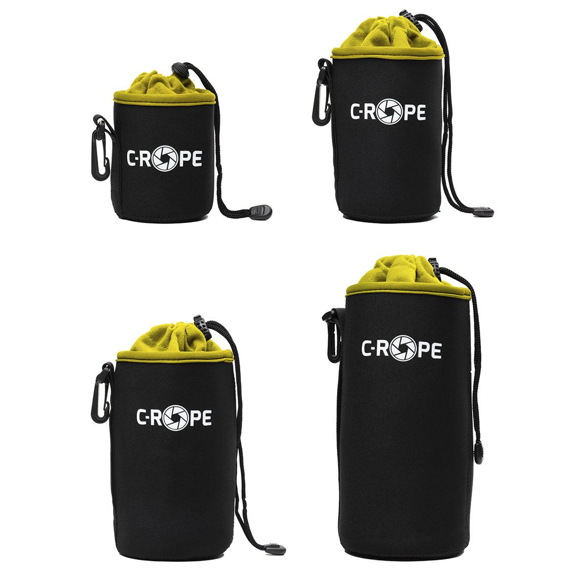 C-Rope Lenspouch schwarz Set S/M/L/XL