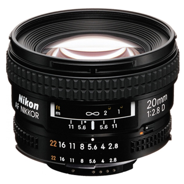 Nikon 20 mm 1:2,8 AF-D Nikkor