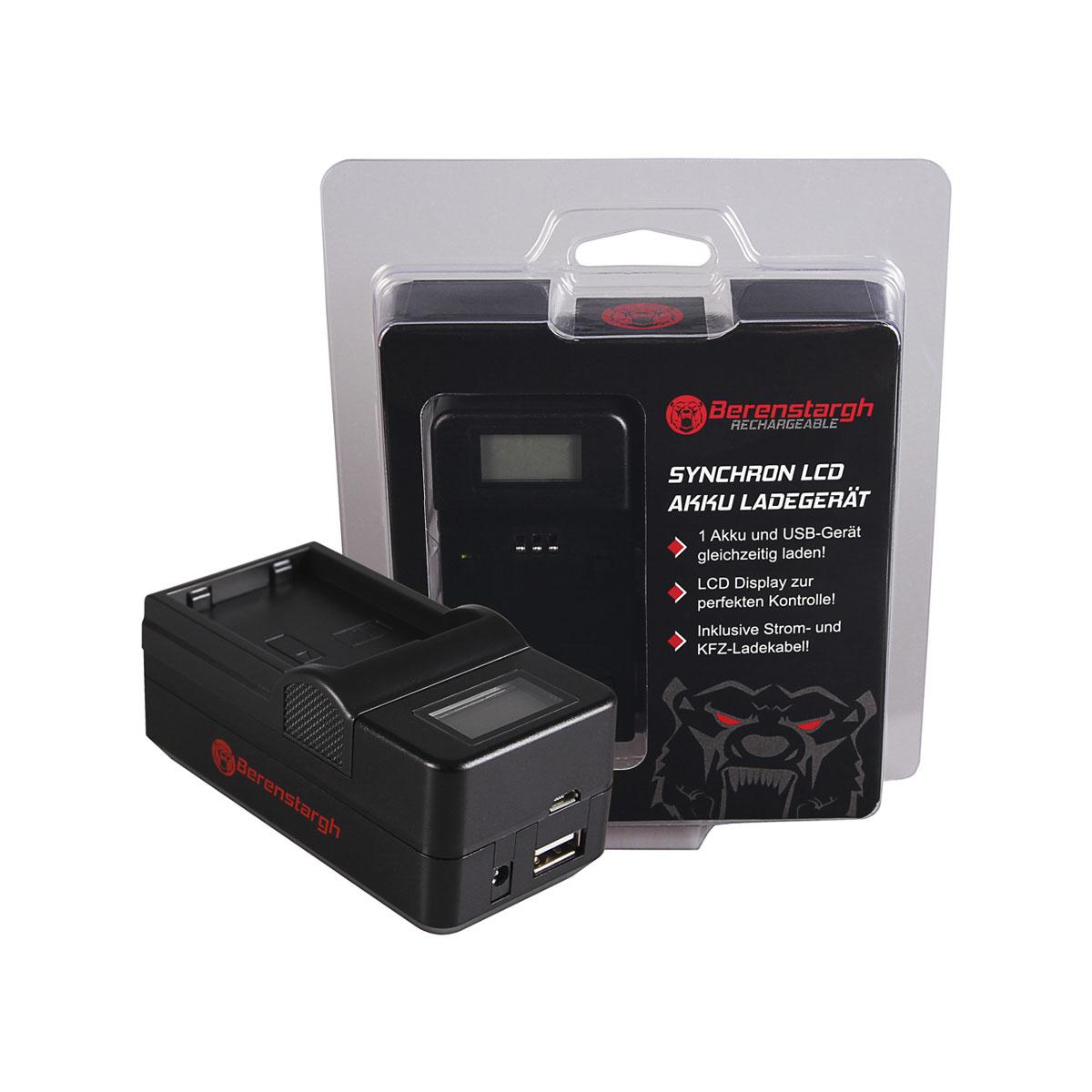Berenstargh Ladegerät für Nikon EN-EL14