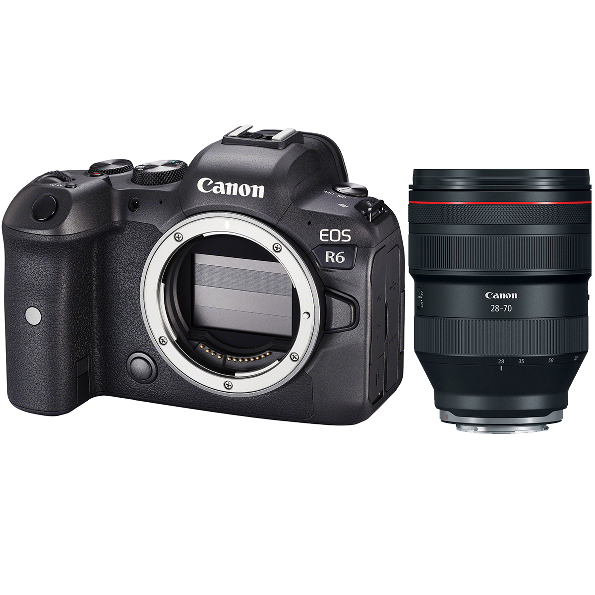 Canon EOS R6 + RF 28-70mm 1:2,0 L USM