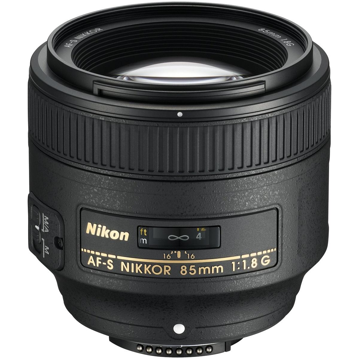 Nikon 85 mm 1:1,8 AF-S Nikkor G