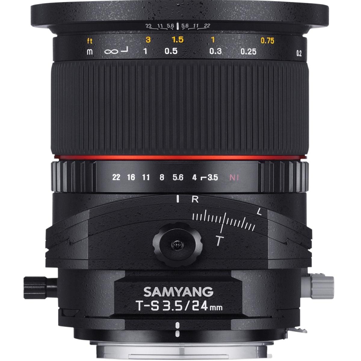 Samyang Tilt-Shift 24 mm 1:3,5 für Fujifilm X