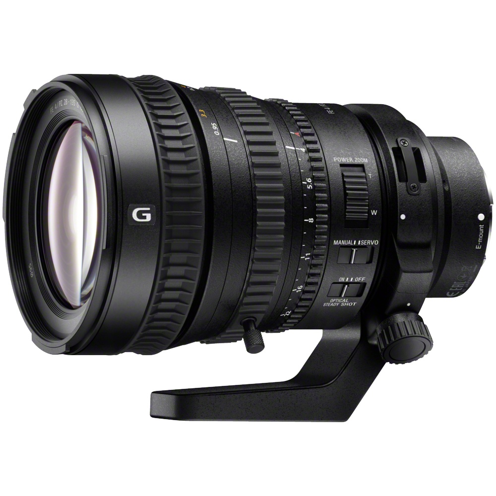 Sony 28-135 mm 1:4,0 PZ G OSS FE