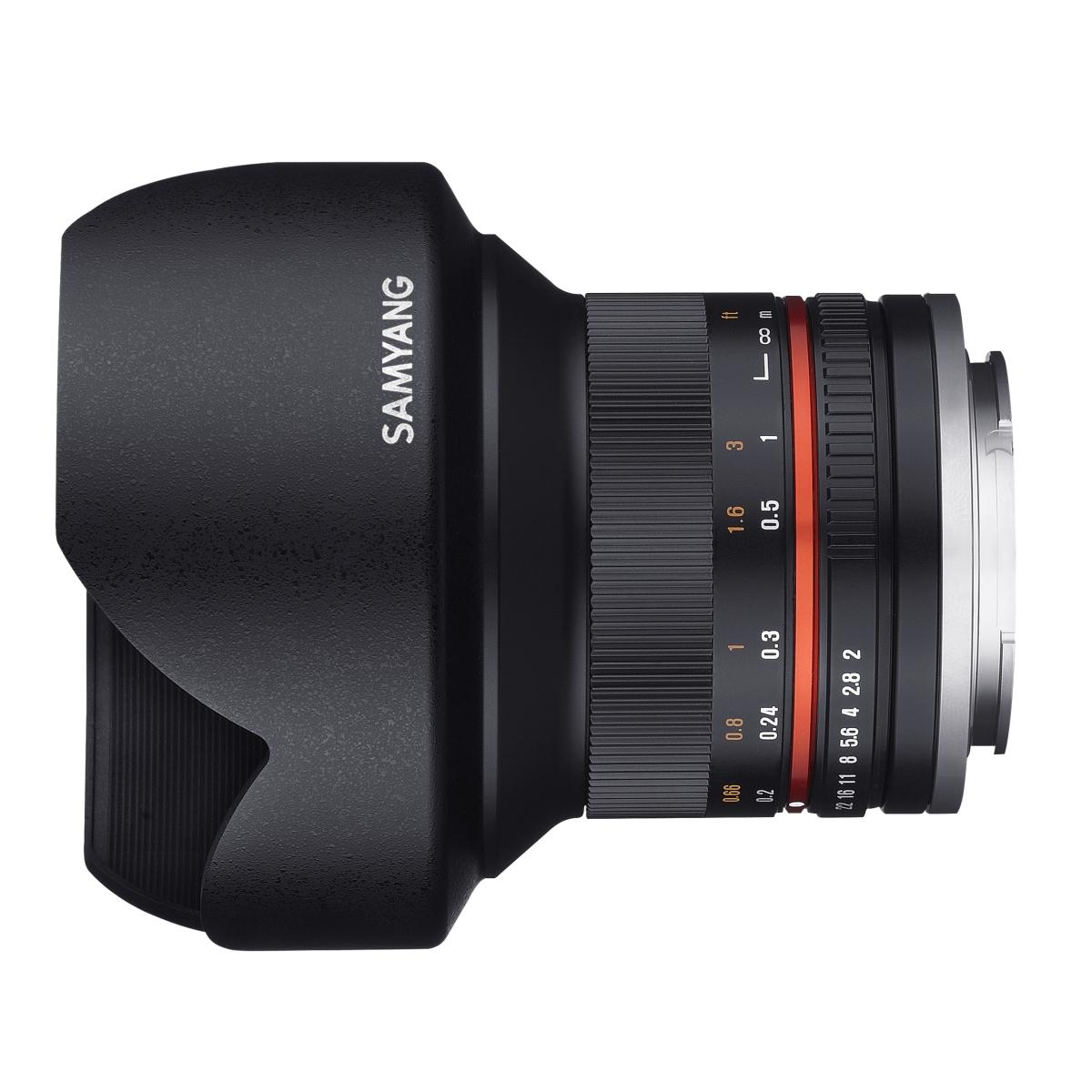 Samyang MF 12 mm 1:2,0 NCS CS für Sony E Schwarz
