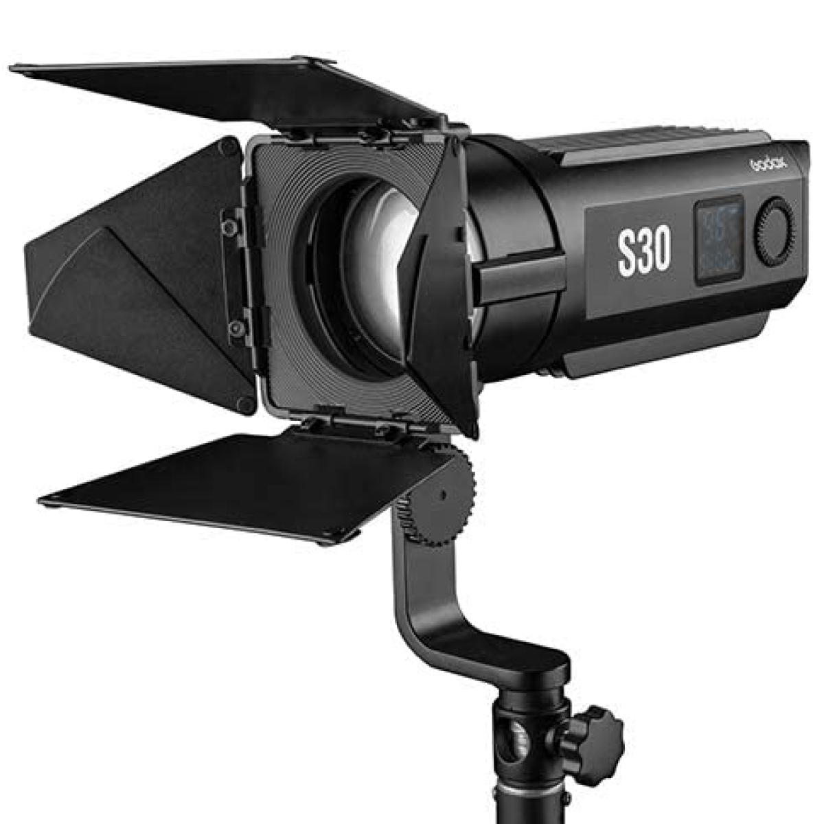 Godox S30 Fokussierbare LED Leuchte