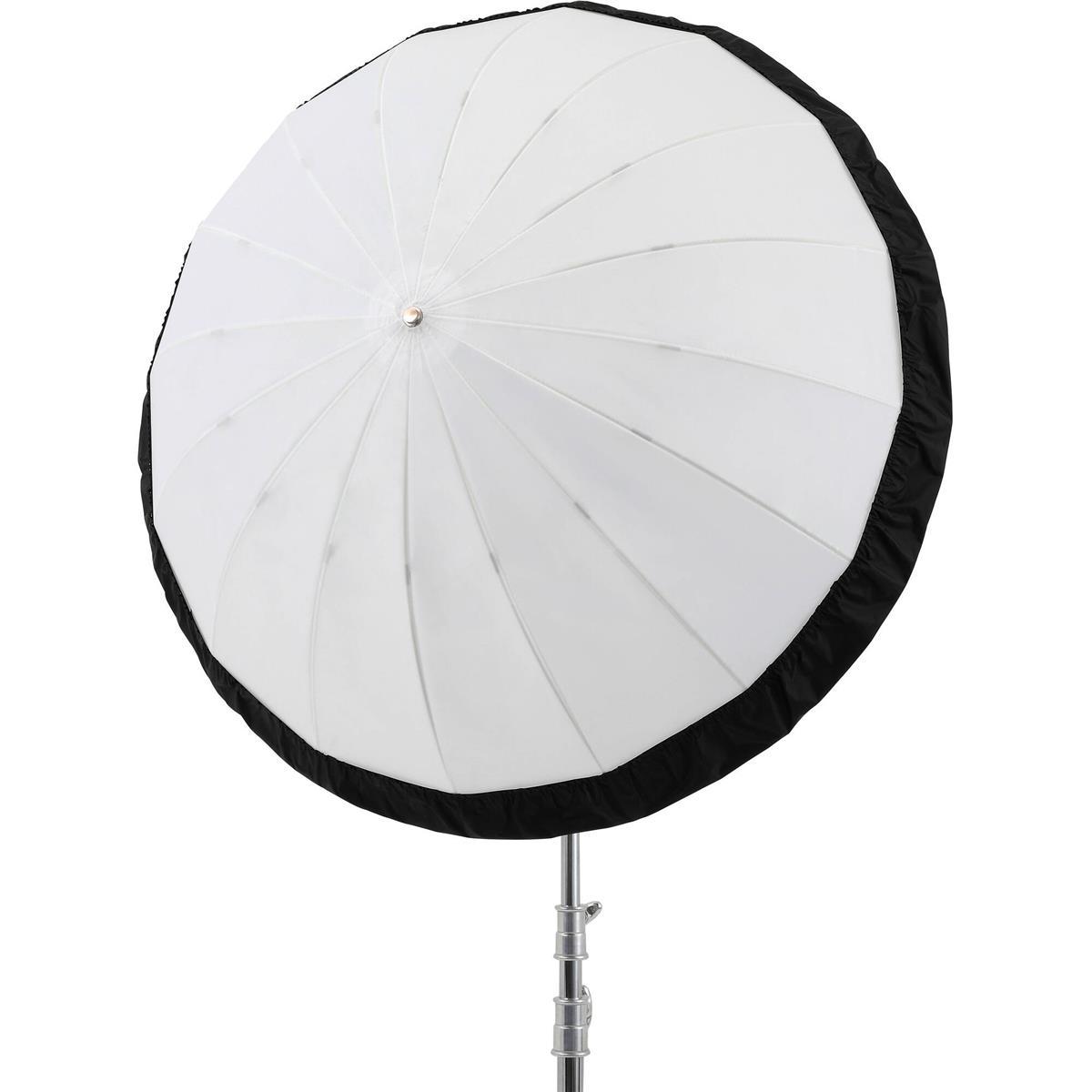 Godox 130 cm Schwarz / Silber Diffusor für Parabolschirm UB-130D