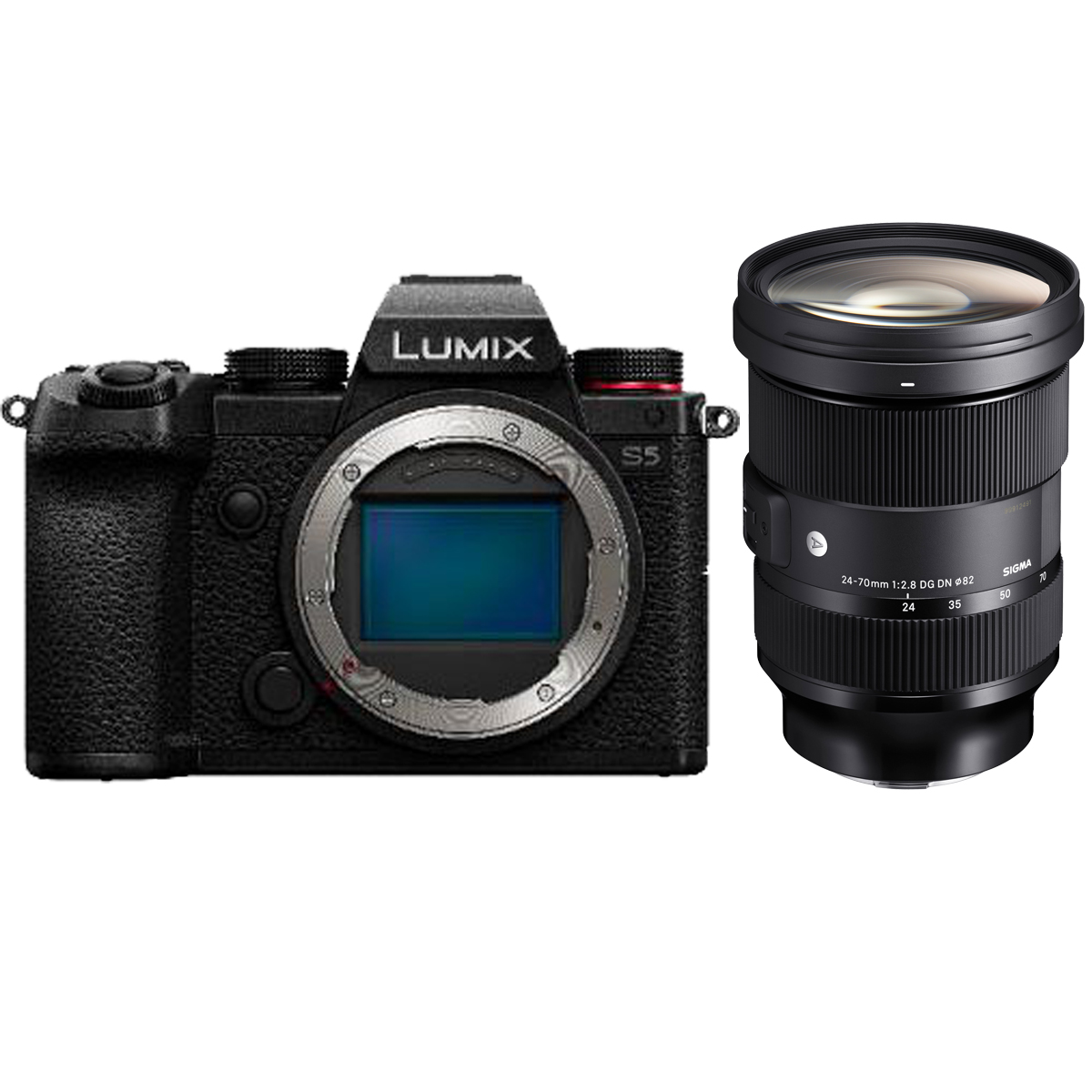Panasonic S5 Kit mit Sigma 24-70 mm 1:2,8