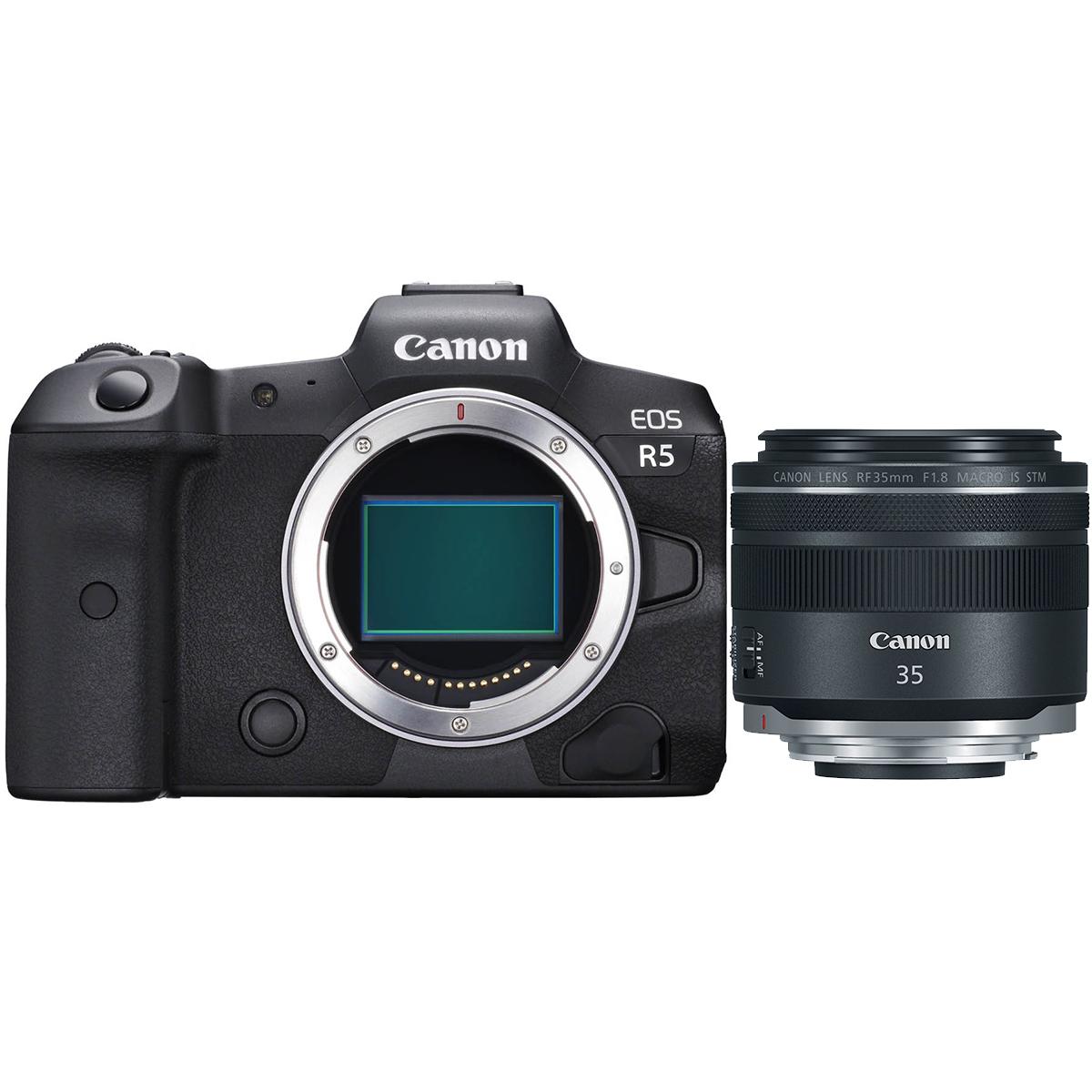 Canon EOS R5 Kit mit RF 35 mm 1:1,8