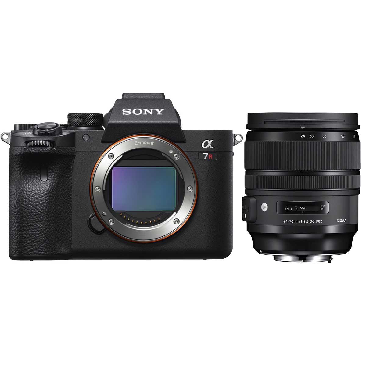 Sony Alpha 7R IV + Sigma AF 24-70mm 1:2,8 DG DN ART