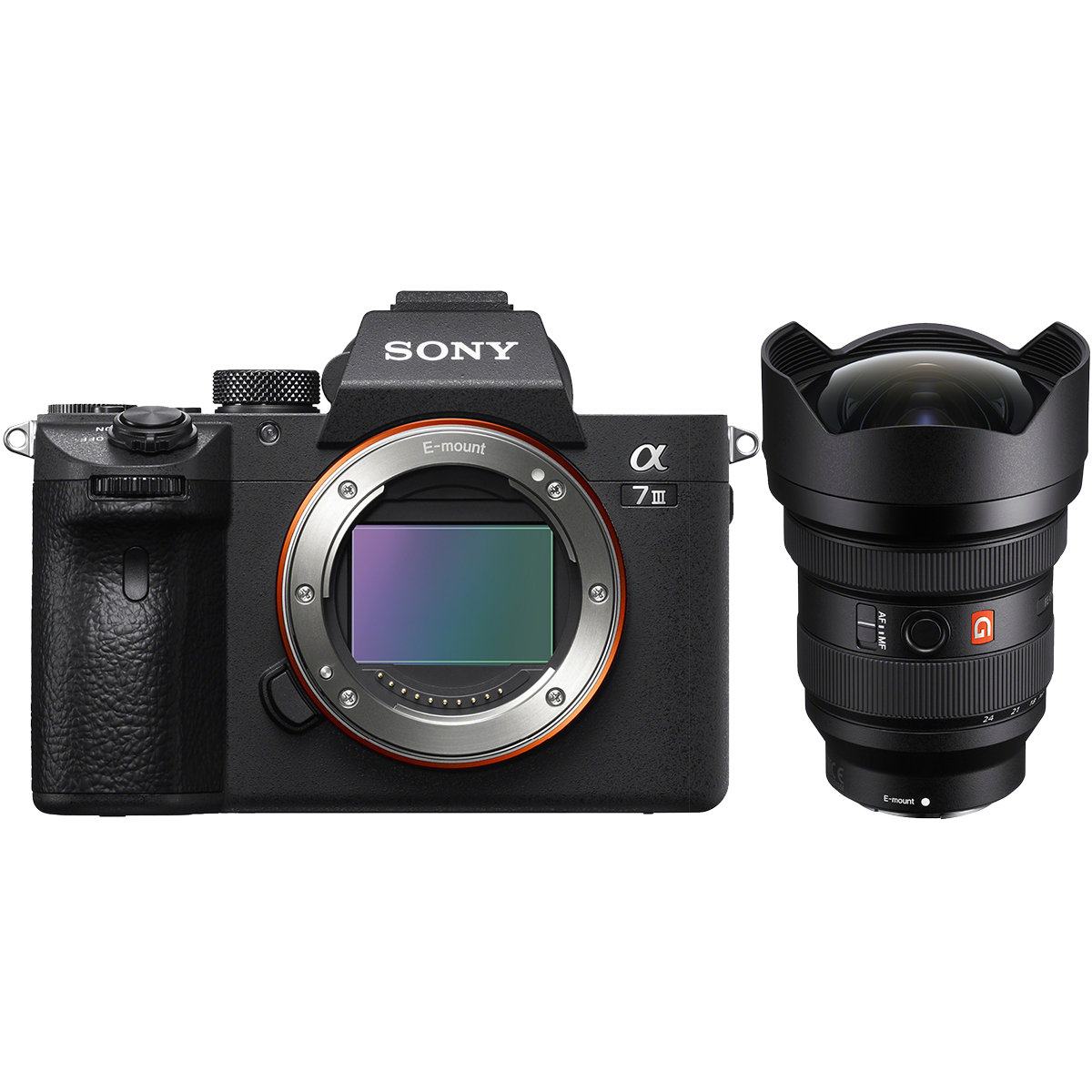 Sony Alpha 7 III Kit mit 12-24 mm 1:2,8