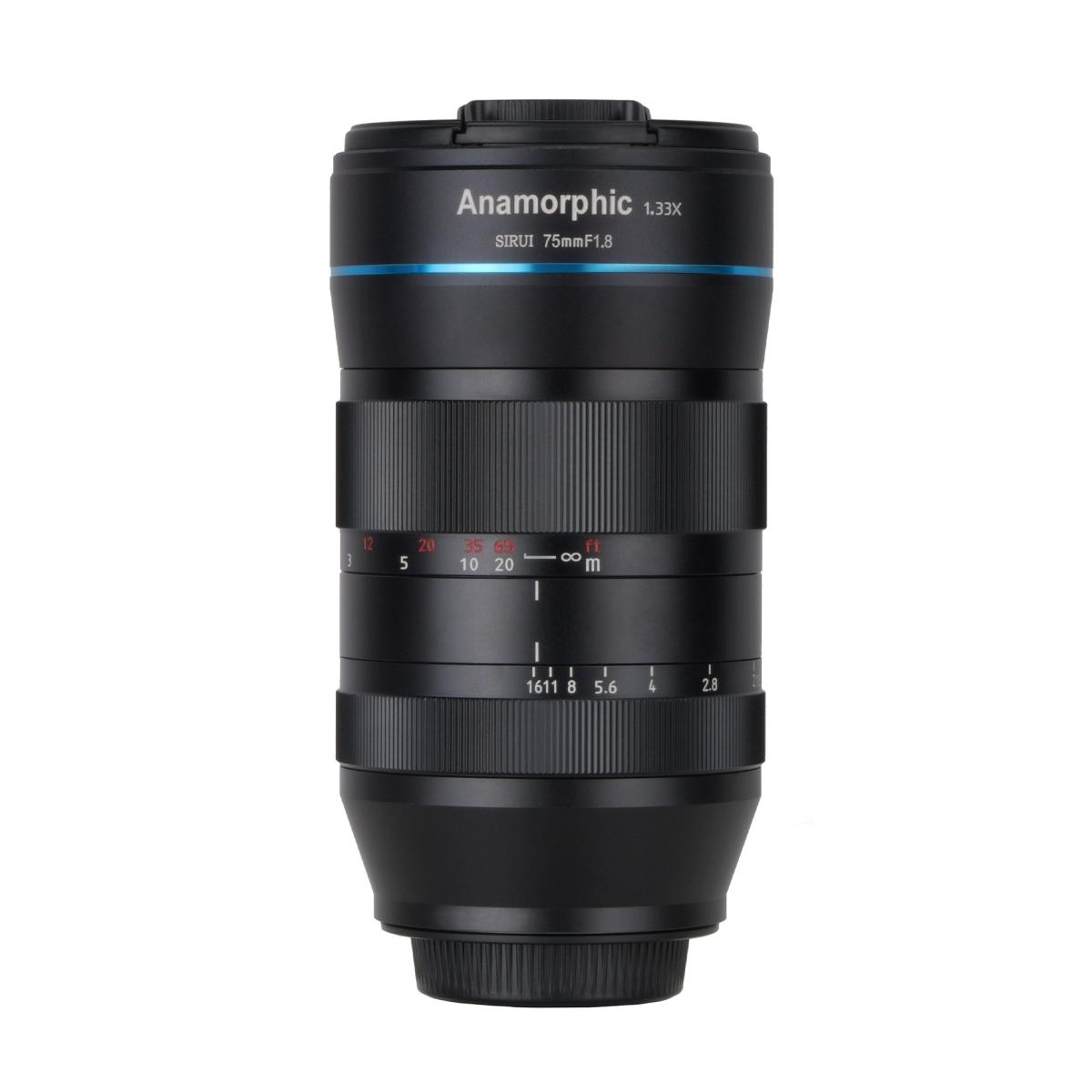 Sirui 75 mm 1:1,8 Anamorph 1,33x für Fujifilm X