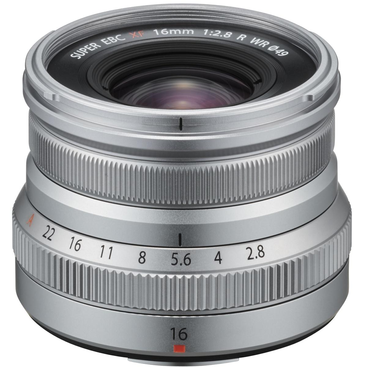 Fujifilm XF 16 mm 1:2,8 R WR silber